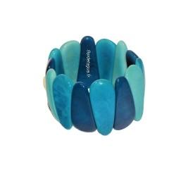 Bracelet Mindo multicolore  en graines tropicales