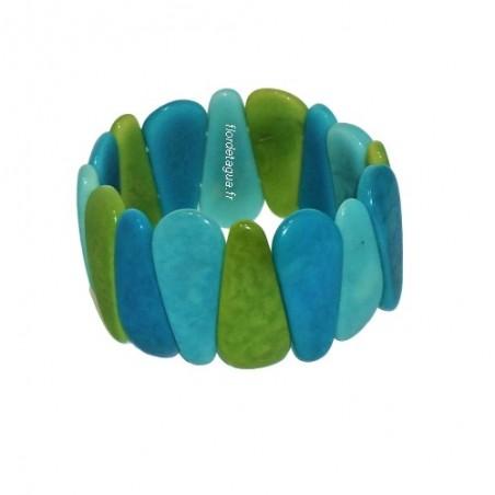 Bracelet Mindo multicolore 3 en tagua