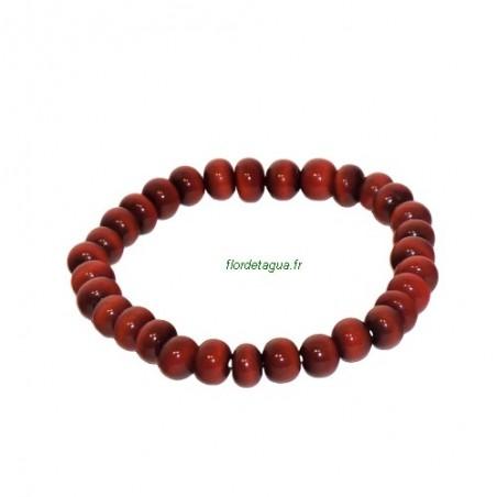 Bracelet Kohkood rouge en Ivoire Végétal