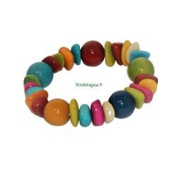 Bracelet Bahia perles rondes