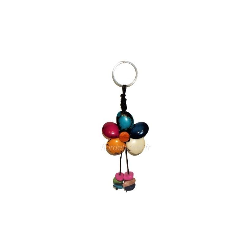 Porte clés Fleur face 1