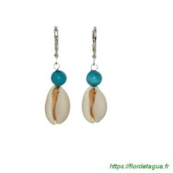 Boucles d'Oreilles Sumalee Turquoise 1